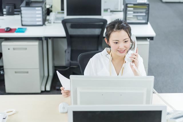 電話受付対応・データ入力【正社員】