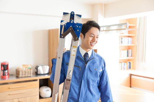 未経験者歓迎 家庭用備品の交換作業のサポート